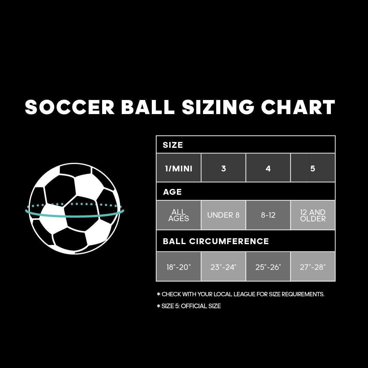 Performance Soccer Ball Standard Size 4 Training Football for Adult Children