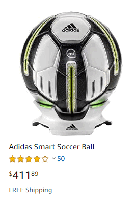 Adidas Smart Soccer Ball Review 2019